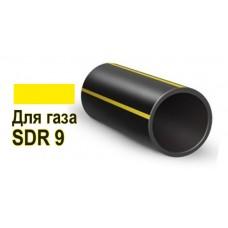 Труба ПНД D 250 мм SDR 9 для газа