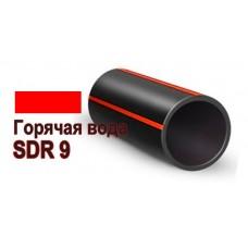 Труба ПНД (PERT) D 250 мм SDR 9 для горячей воды