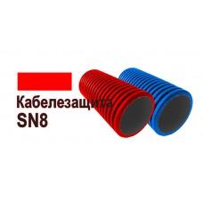 Труба защитная двустенная SN 8 ПНД/ПВД 90мм (гофра)